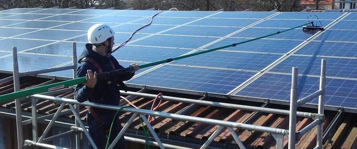 Beratung und Unterweisung Solarreinigung und Photovoltaikreinigung
